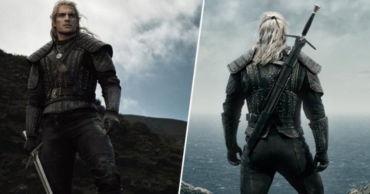 Henry Cavill as Geralt in The Witcher copyright Netflix